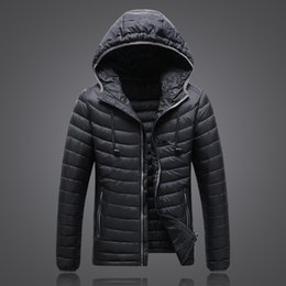 Wholesale Mens Short Jacket Coat - 2017 winter Classic Brand THE Men Wear Thick Winter Outdoor Heavy Coats Down Jacket North mens jackets Clothes hooded Face l-5xl 1503