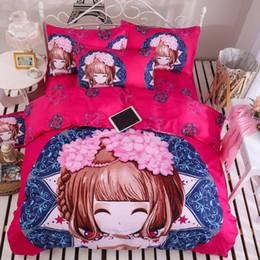 Wholesale Wholesale Girls Bedroom Sets - SF-EXPRESS 10pcs Cotton Owl Duvet Cover Set 200*230cm Girls Bedroom Decor Summer Hot Airconditioner Sheets