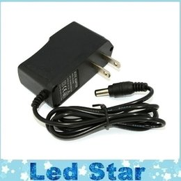 Wholesale Dc Adapter Power Supply New - New 12V 1A Power Supply AC 100-240V To DC Adapter Plug For 3528 5050 Strip LED with EU US plug free shipping