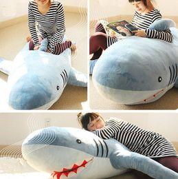"Wholesale Bean Bag Blue - 71""(1.8M) GIANT HUGE SHARK STUFFED ANIMAL PLUSH SOFT TOY PILLOW SOFA BEAN BAG"