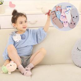 Wholesale Korean Clothing For Children - Cartoon Ankle Socks Korean Boys Girls Cotton Sock Baby Socks 2016 Autumn Winter Socks For Kids Children Clothes Kids Clothing Ciao C28704