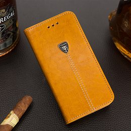 Wholesale Iphone Card Holder Flip Case - For iPhone X 8 7 Plus Classic Retro Luxury Flip Stand Wallet Leather Case with Holder Cover For iphone7 5 6