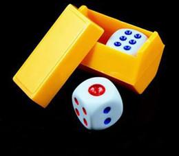 predicción magia Rebajas Dados mágicos que escuchan dados predicción niños niños envío gratis trucos de magia apoyos juguetes colores ramdon YH117