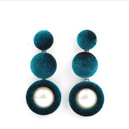 Wholesale Weave Earrings - 2017 new Brand Fashion Vintage Ethnic Drop Earrings for Women Jewelry Boho big weaving Long tassels Dangle Earring wholesale free shipping