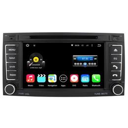 Wholesale Touareg Gps Radio - Quad Core Android 5.1.1 Car DVD Stereo Player For VW TOUAREG 2004-2011 T5 Multivan -2009 Transporter -2009 With Radio