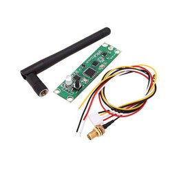 Wholesale Dmx512 Transmitters - Wireless DMX512 2.4G Led Stage Light PCB Modules Board LED Controller Transmitter Receiver with Antenna