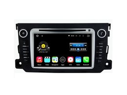 Wholesale Phone Smart Greek - 7'' Quad Core Android 5.1.1 Car DVD Player For Smart 2012 2013 For BENZ With Stereo Radio GPS Map Wifi BT