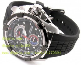 Wholesale Analog Timers - Mens Luxury Top Quality Edition Alarm Velatura Yachting Timer Watch SPC007 SPC007P1 Quartz Chronograph Mens Stainless Drive Watch