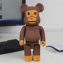 senhor anéis figuras Desconto Suzannetoyland 400% Bearbrick made in china Figura presente Action Figure para Namorados Presente de Natal Girlfriends