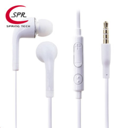 Wholesale Earphones S3 Original - Original S4 HS330 white JB EO-EG900BW Noodle in-ear earphone with mic volume control for samsung galaxy s3 s4 s5 s6 s7 edge Freeshipping