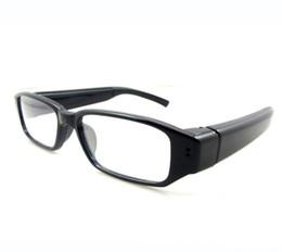 Wholesale Digital Eyewear Camera - HD 720P Camcorder mini DVR Camera Eyewear Clear Glasses Video Recorder 1280*720 Hidden Spy Camera Digital Video Camcorder Free shipping