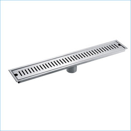 Wholesale Bathroom Clean - 50cm Stainless steel Deodorization Drainer,linear floor drain,bathroom floor drain,Free Shipping J14169