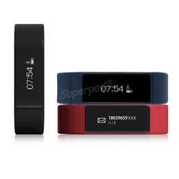 Wholesale Health Sport Watch Dhl - DHL I5 Plus Touch Screen Smart Bracelet Bluetooth 4.0 Waterproof Fitness Tracker Health Wristband Sleep Monitor Smart Watch Sports