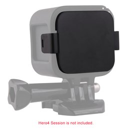 Wholesale Gopro Lenses - Andoer Camera Lens Cover Lens Cap Protector for GoPro Hero4 Session D3432