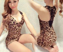 Canada Femmes, plus la taille de la lingerie sexy hot black lingerie léopard d'impression érotique en peluche sous-vêtements sexy costumes sexy lenceria Offre
