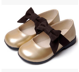 Wholesale Princess Shoes - Girls Dress Shoes Kids Leather Shoes Children Shoes Kids Footwear Fashion Casual Princess Dress Shoes Children Dress Shoes