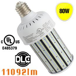 Wholesale High Sodium Bulbs - Pc cover 80w led shoebox light bulb E39 E40 Retrofit tennis court golf court 250w high pressure sodium light