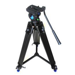 Wholesale Pro Fluid Camera - Benro KH-25 Updated Version Pro Video Camera Camcorder Fluid Drag Tripod KH25N Hydraulic Head For Canon Sony Panasonic Free DHL
