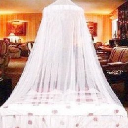 Wholesale Wholesale Canopy Beds Free Shipping - 2017 Summer Hot Selling ! Good Sleeping Graceful Elegant Bed Curtain Netting Canopy Mosquito Net free shipping