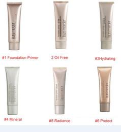 Свободная масляная грань онлайн-2019 макияж Laura Mercier Foundation Primer/без масла/увлажняющий/минеральный/сияние/защита SPF 30 Base 50ml Face Makeup Natural Long-lasting