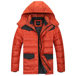 Wholesale Fertilizers Brands - Wholesale- New winter men's fashion casual stand collar big yards fat Nutty large yards jacket plus fertilizer increase Brand down jacket