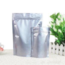 Wholesale Meat Bags - 30*42CM 100Pcs Zipper Top Aluminum Foil Resealable Value Pack Package Pouches Zip Lock Food Cookie Meat Snack Grain Storage Bags