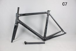 Wholesale Time Carbon Fibre Bike Frames - Hot Selling! T1000 carbon road bike C60 C7 carbon road frame time bicycle frame bb386 frame