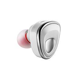 Teléfono celular inalámbrico invisible online-Nuevos auriculares inalámbricos Bluetooth Mini6 auriculares Fashional Mini Invisible auriculares manos libres para mujer con cancelación de ruido MIC para teléfono celular