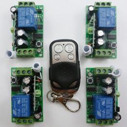 2019 module de relais unique 1PCS Télécommande 4PCS Récepteur Modules de Relais Sans Fil 12V à Un Canal 433M Soyez le premier à rédiger un avis module de relais unique pas cher