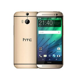 Wholesale One Phone 4g - Refurbished 100% Original HTC One M8 Android 4.4 Cell phone 5.0inch Quad Core 2GB RAM 32GB ROM 4G LTE-FDD 3G WCDMA 2G GSM