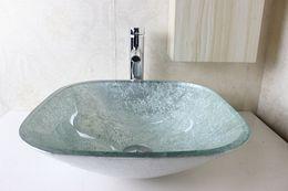 UK Glass Basin Vanity bathroom wash sink Wash Basin Glass Bowl glass sink bowl N-739 DHgate Mobile