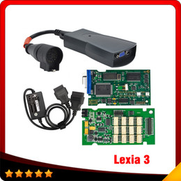 Wholesale Automotive Products - 2016 Shopping-rush product Lexia 3 Diagnostic Tool new coming and great quality lexia3 + S.1279 cable citroen peugeot dhl free shipping