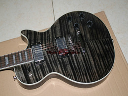 Wholesale Axcess Electric Guitar - New Arrival Custom Shop Axcess Electric Guitar Mahogany body Gray Flame OEM Free Shipping
