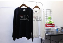 Wholesale Black Flag Sweatshirt - New HBA Embroidery Hoodies for Men and Women Gosha Rubchinskiy Flag Sweatshirts Hip Hop Urban Street Wear Crewneck Pullover fil Hoodie S-XL