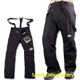 Wholesale Fleece Gore Tex - Hot selling new brand outdoor hiking camping pants men's winter warm fleece pants windproof & waterproof size S-XXL