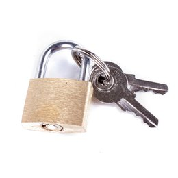 Wholesale Open Mouth Plug - 1pcs Open type copper lock padlock for small mouth ball plug binding belt