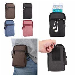 Wholesale Korea Wholesalers Phones - Universal 6.3inch Phone Korea Jean Slot Credit ID Card Cloth Bag Pouch Zipper Card Slot For Iphone SE 5 5S 6 6S Plus Galaxy S7 Edge S6 PLUS
