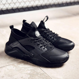 Wholesale Men S Pointed Shoes - 2017 low price High Quality Air Huarache 3 Ultra Run Mesh Breathe Running Casual shoes Mesh Men Women\'s Huaraches Sneakers Size 36-45