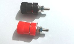 Wholesale Speaker Socket - 100pcs Binding Post Banana Plug Socket for 4MM Banana plug Speaker