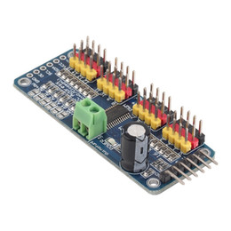 Wholesale Robot Arduino - PCA9685 16-Channel 12-bit PWM Servo motor Driver I2C Module For Arduino Robot <US$10 no tracking
