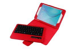 Wholesale Galaxy Tab Wireless Keyboard - bluetooth keyboard T350 8.4 -inch holster T350 wireless bluetooth keyboard Bluetooth Keyboard Leather Case For Samsung Galaxy Tab A 8 T350