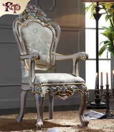 Zimmermöbel online-Italienische klassische Möbel-klassische Wohnzimmermöbel-königliche Möbel französischer Artmöbelhersteller-Lehnsessel Freies Verschiffen
