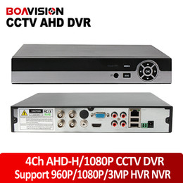 Wholesale Dvr Cctv 4ch Camera - Multifunctional 4CH 1080P AHD-H CCTV DVR Hybrid DVR 1080P NVR Video Recorder AHD DVR For 2MP AHD Analog Camera IP Camera