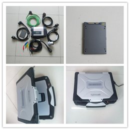 Wholesale Used Engines - 2017 mb star c4 newest software ssd with laptop cf-30 toughbook diagnostic tool for 12v 24v full set ready to use