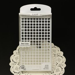 Wholesale Galaxy S4 Polka Dots - 155*88*20mm Polka Dot PVC Plastic Retail Package Packaging Box For iPhone 4 5 SE 6 6S Galaxy S4 S5 S6 S7 Note 3 4 5 Cell Phone Case