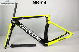 frame da bicicleta da estrada da fibra do carbono 48cm Desconto Fibra de estrada de carbono T1000 quadro da bicicleta nk1k preço razoável de alta qualidade