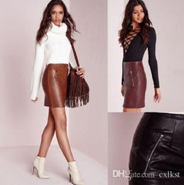 Dropshipping Short Red Leather Skirt UK | Free UK Delivery on ...