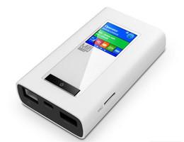 Tarjeta del sim del ranurador del módem sin hilos online-Nuevo LTE GSM 4G Dongle inalámbrico Mifi con 5200mAh Ranura de tarjeta SIM RJ45 Función de módem de puerto Desbloqueo global Enrutador Wifi