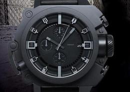 Caballeros azules online-The Dark Knight Rises Edición limitada DZWB0001 DZ4243 Negro Silicona Hombres Relojes deportivos Reloj azul claro para hombres