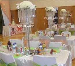 Vaso tromba in cristallo acrilico in stile moderno per matrimoni a casa da matrimoni acriliche di vasi fornitori